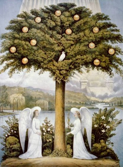 currier_ives_angels_tree_1