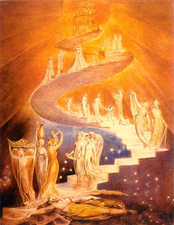 Jacobs Ladder by WilliamBlake