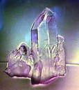 mauve blue crystal
